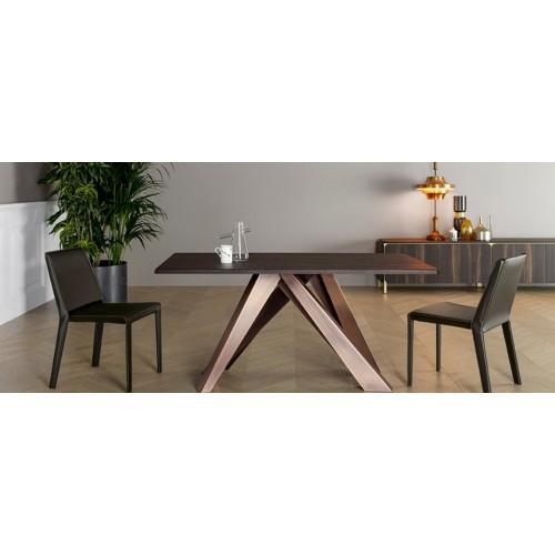BONALDO - BIG TABLE 160 noce americano