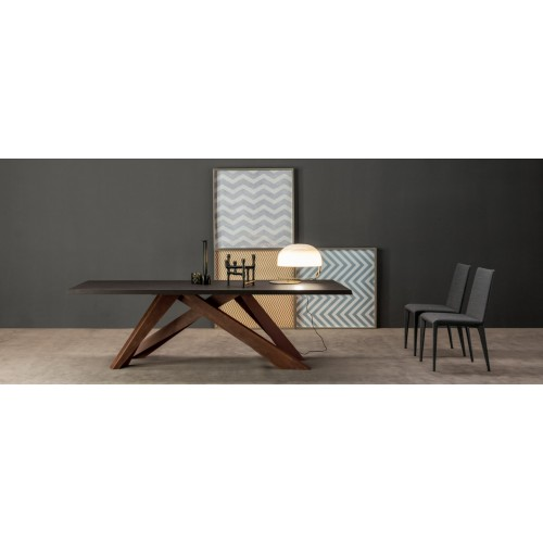 Bonaldo - BIG TABLE 160 grigio ardesia