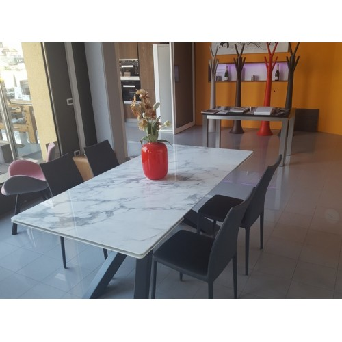 Bonaldo - BIG TABLE 180 ceramica bianco