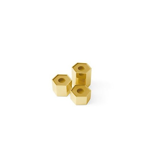 Gallotti&Radice - CANDLE HOLDERS HEXAGONAL