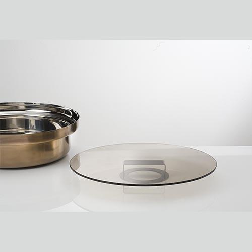 Alzata/Coperchio cm 30 Collezione FoodWear - KnIndustrie