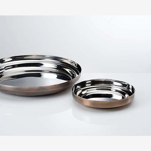 2 Padelle/piatto cm 20 e cm 34 Collezione FoodWear - KnIndustrie