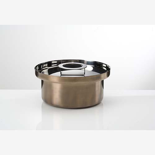Casseruola con coperchio acciaio cm 26 Collezione FoodWear - KnIndustrie