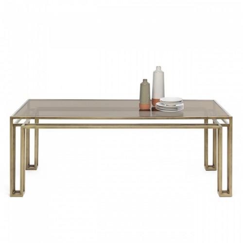 TAVOLO HOTLINE TABLE BRONZO PATINATO - Mogg