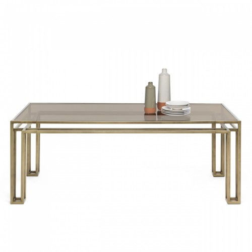 MOGG - TAVOLO HOTLINE TABLE BRONZO PATINATO