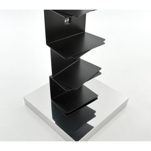PTOLOMEO ART nera base inox 160 di Opinion Ciatti