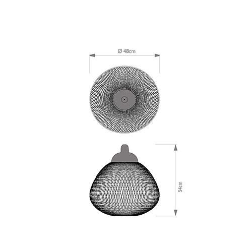 Lampada Non random D 48 - Moooi