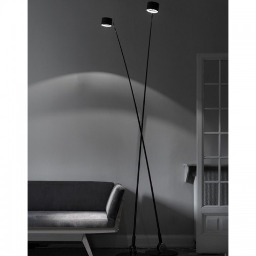LAMPADA SAMPEI da terra 230 LED BLACK - Davide Groppi