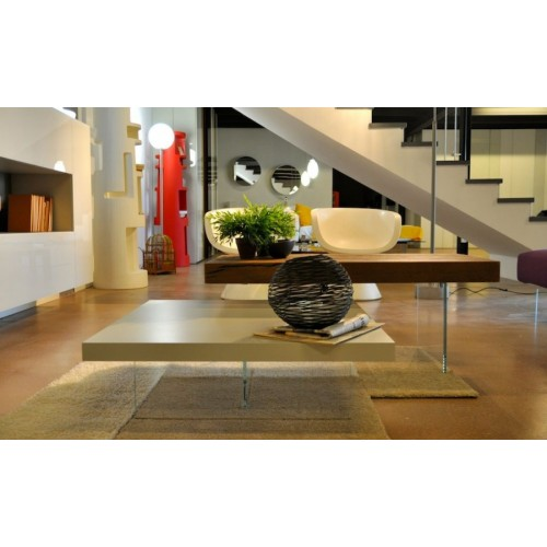AIR LACCATO _ COFFEE TABLE QUADRATO L. 73,6  H. 41,4 - LAGO