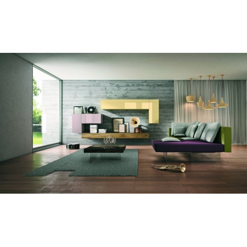 AIR LACCATO _ COFFEE TABLE L. 190  H. 41,4 - LAGO