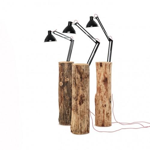 MOGG - PIANTAMA TAVOLINO/LAMPADA  H. 100