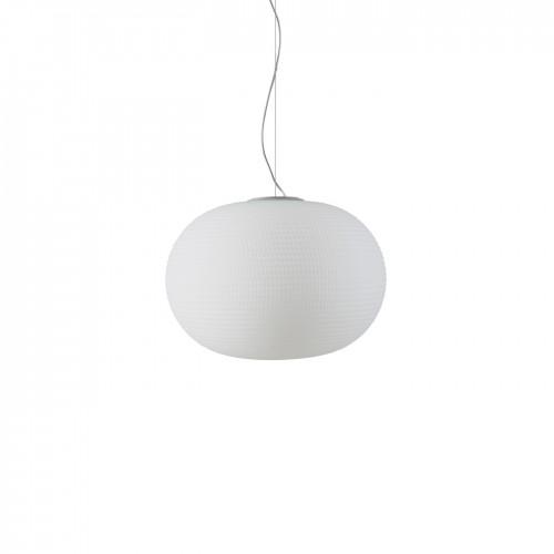 SOSPENSIONE BIANCA diametro 30 LED - FONTANA ARTE