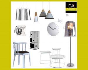Mobile di design, collage