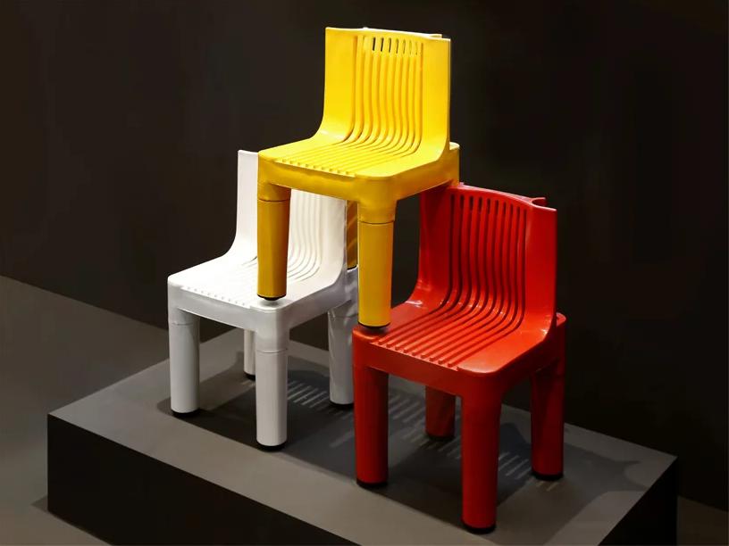 kartell plastica sedia per bambini