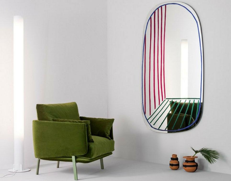 Specchio new perspective di bonaldo dinamicit e immaginazione - Alice dentro lo specchio ...