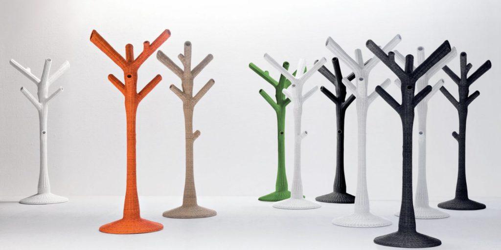 appendiabiti di design corallo Gervasoni