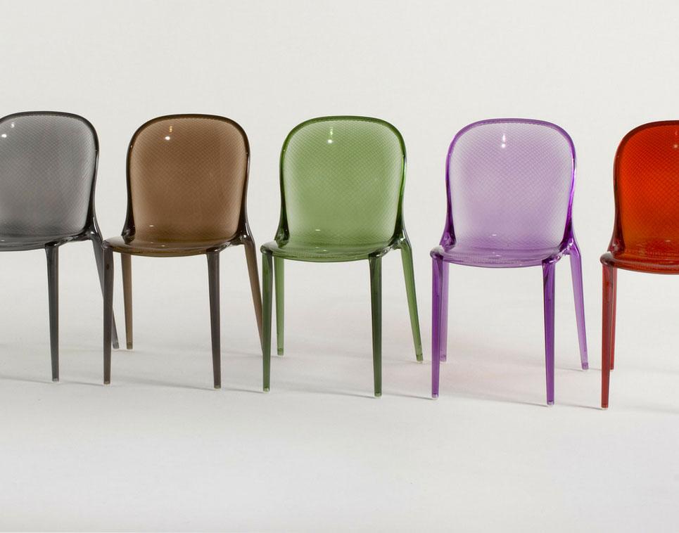 La sedia design thalya di kartell id interni d 39 autore for La sedia nel design