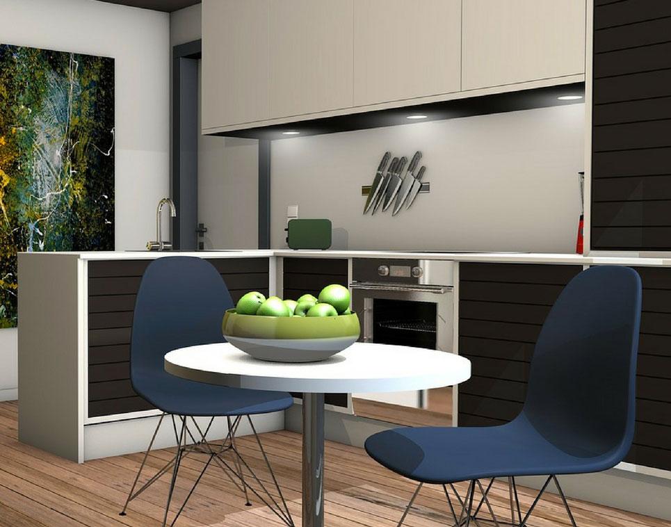 3 idee per dividere sala pranzo e cucina moderna - Idà Interni d\'Autore