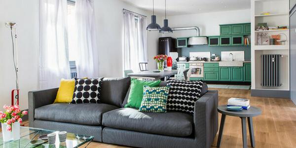 Arredare cucina e soggiorno in un unico ambiente: i nostri consigli