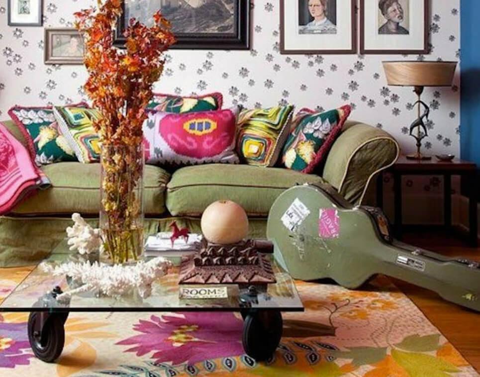 Arredo in stile boho chic guida alla scelta dei colori for Arredamento shop online