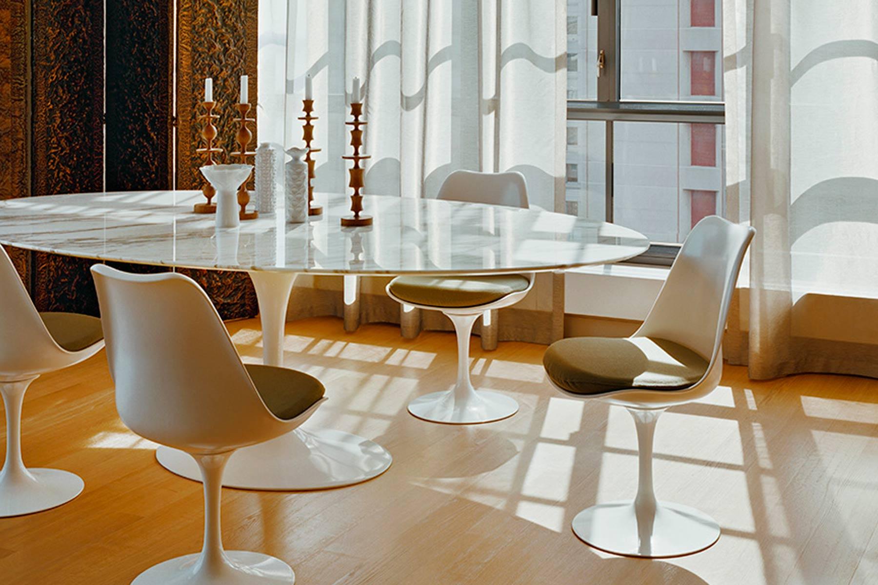 Tavoli Quadrati Di Design.4 Tavoli Che Hanno Fatto La Storia Del Design Ida Interni D Autore
